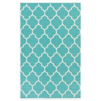 Artist Weavers Vogue Claire 2-Foot x 3-Foot Accent Rug in Teal