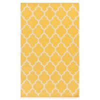 Artist Weavers Vogue Claire 4-Foot x 6-Foot Area Rug in Yellow