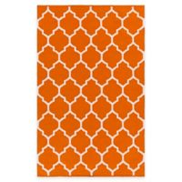 Artist Weavers Vogue Claire 4-Foot x 6-Foot Area Rug in Coral