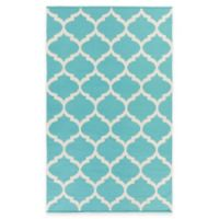 Artist Weavers Vogue Everly 3-Foot x 5-Foot Area Rug in Teal