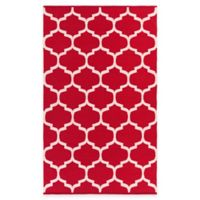 Artist Weavers Vogue Everly 3-Foot x 5-Foot Area Rug in Red