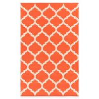 Artist Weavers Vogue Everly 8-Foot x 10-Foot Area Rug in Coral