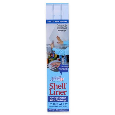 Shelf It Liner For 12 Inch Wire Shelving