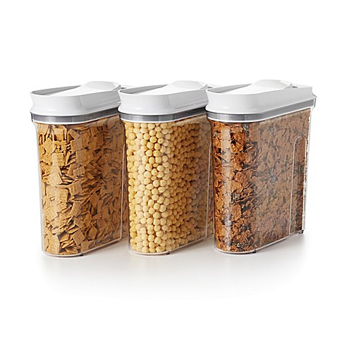 Oxo Good Grips 174 Pop Cereal Dispensers Set Of 3 Bed