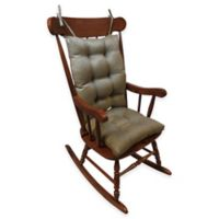 Klear Vu Universal Omega Extra-Large 2-Piece Rocking Chair Pad Set in Gold