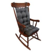 Klear Vu Universal Omega Extra-Large 2-Piece Rocking Chair Pad Set in Chestnut