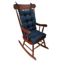 Klear Vu Universal Omega Extra-Large 2-Piece Rocking Chair Pad Set in Indigo