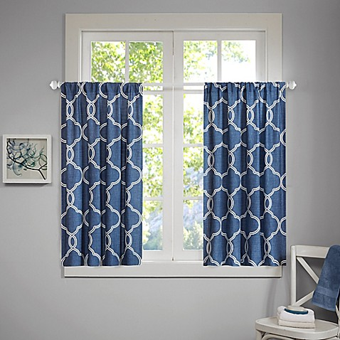 Buy Freya 34 Inch Window Curtain Tier Pair From Bed Bath
