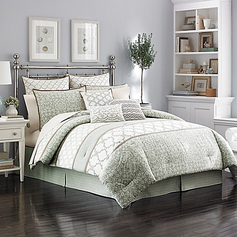 laura ashley raeland comforter set bed bath beyond. Black Bedroom Furniture Sets. Home Design Ideas