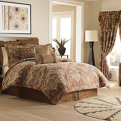 Croscill 174 Salida Reversible Comforter Set Bed Bath Amp Beyond