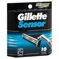 Gillette® Sensor® 10-Count Men's Razor Blade Cartridges