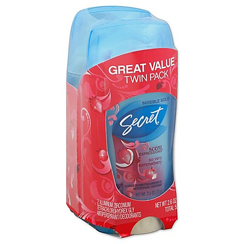 buy secrets scent expressions 2 count clear gel antiperspirant and deodorant in so very. Black Bedroom Furniture Sets. Home Design Ideas