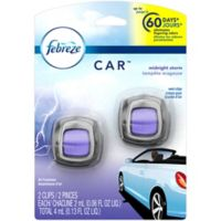 Febreze® 2-Count Car Vent Clip in Midnight Storm