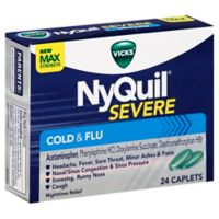 Vicks® Nyquil® 24-Count Severe Cold and Flu Caplets