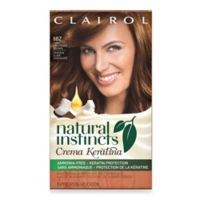 Clairol® Natural Instincts Crema Keratina Hair Color Light Chocolate Brown 6BZ Hazelnut Creme