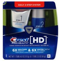 Crest® Pro-Health HD Daily Two-Step Toothpaste System
