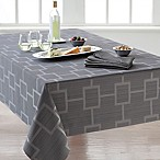 Origins™ Tribeca Microfiber 70-Inch Square Tablecloth in Charcoal
