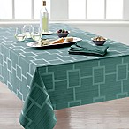 Origins™ Tribeca Microfiber 70-Inch Square Tablecloth in Turquoise