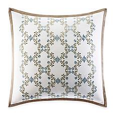 laura ashley raeland geometric square throw pillow