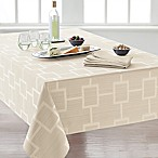 Origins™ Tribeca Microfiber 60-Inch x 84-Inch Oblong Tablecloth in Ivory