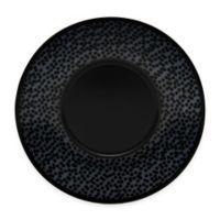 Noritake® Black on Black Snow Saucer in Black