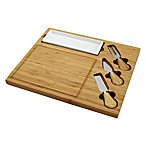 Picnic At Ascot Celtic 4-Piece Bamboo Cheese Board Set