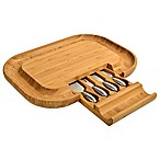 Picnic At Ascot  Malvern Deluxe Bamboo Cheese Board Set