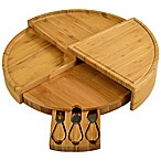 Picnic At Ascot 4-Piece Vienna Bamboo Serving Set