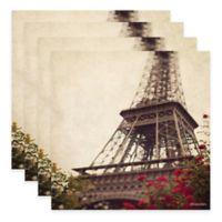 Thirstystone® Paris Rose Coasters (Set of 4)