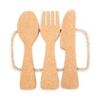 Thirstystone® Cork Utensils-Shaped Trivet