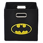 Modern Littles Batman Folding Storage Bin in Black