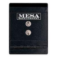 Mesa Safe Company Steel Horizontal Under Counter Depository Safe in Dark Grey