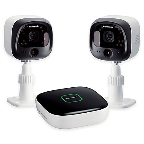 panasonic kx nh6002 w diy home surveillance camera kit bed bath beyond. Black Bedroom Furniture Sets. Home Design Ideas