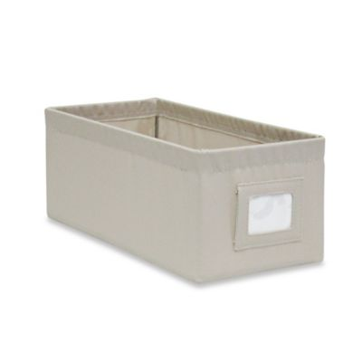 Buy Canvas Bins From Bed Bath Amp Beyond