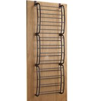 36 Pair Over-the-Door Shoe Rack in Bronze