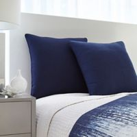 Vince Camuto® Lyon European Pillow Sham in Blue