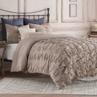Anthology™ Kendall Twin Duvet Cover in Oatmeal