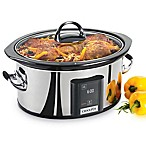 Crock-Pot® 6.5-Quart Slow Cooker with eLume™ Touchscreen