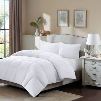 sleep philosophy true north northfield supreme down blend king comforter in white - King Down Comforter
