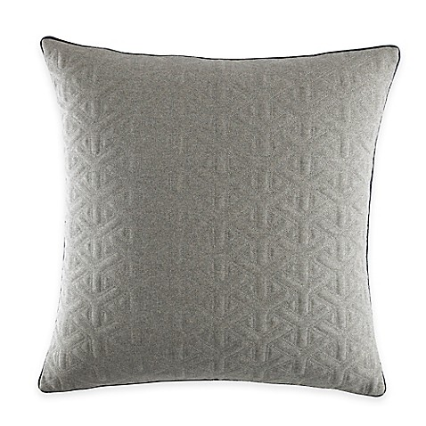 "Nautica® Ayer European Pillow Sham in Grey""is not available for sale ..."