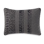 Vera Wang Home Pom Pom Ribbon Breakfast Throw Pillow in Grey