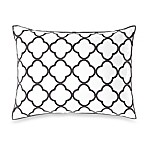 Vera Wang Home Pom Pom Breakfast Throw Pillow in Grey/White