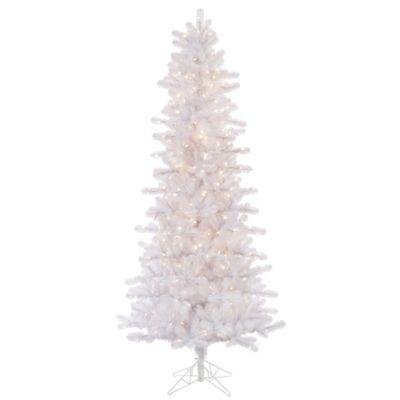 Slimline Christmas Trees With Lights