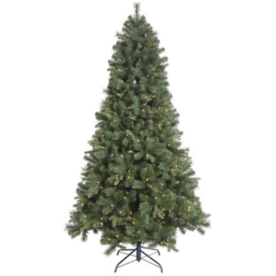Vickerman 9 Foot Classic Mixed Pine Tree Pre Lit Christmas Tree With Clear  Lights