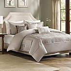 Madison Park Trinity King/California King Duvet Cover Set in Taupe