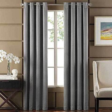 Newton Room Darkening Grommet Top Window Curtain Panel
