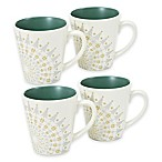 Noritake® Colorwave Holiday Mugs in Spruce (Set of 4)