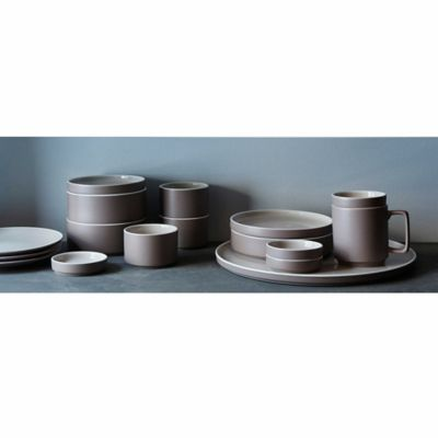 Product Image for Noritake® ColorTrio 16-Piece Coupe Dinnerware Set in Clay 2 out  sc 1 st  Bed Bath u0026 Beyond & Noritake® ColorTrio 16-Piece Coupe Dinnerware Set in Clay