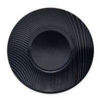 Noritake® Black on Black Dune Saucer in Black