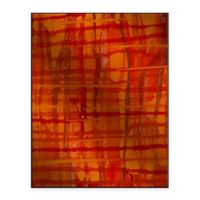 Wood Weave II 13-Inch x 16-Inch Metal Wall Art